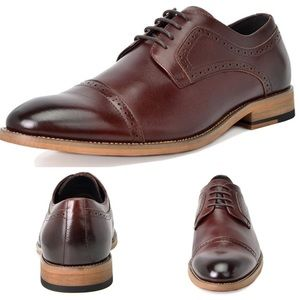 Other - NEW Mens Bruno Genuine Leather Oxfords Shoes